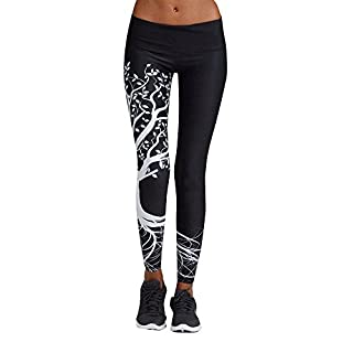 Yvelands High Waist Yogahosen Elastische Stretch-Hose Lauf-Tights für Smartphone Yoga Hose Gym High Elastic