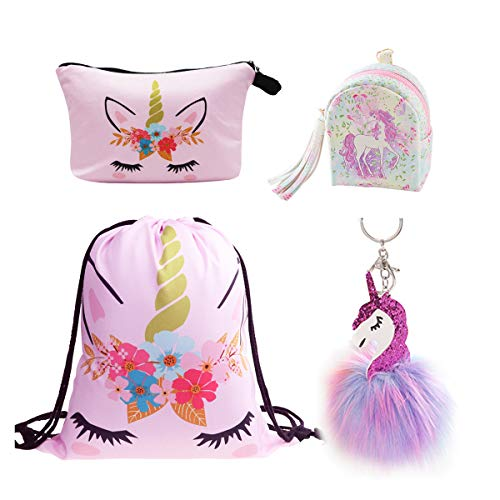 DRESHOW Unicorn Gifts for Girls Mochila