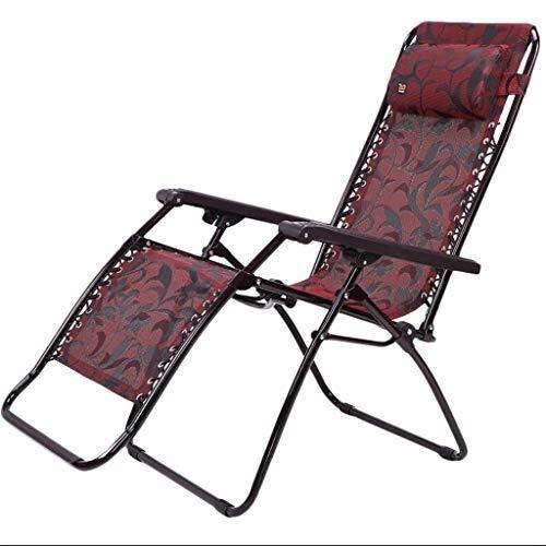 Fdd sedia sdraio reclinabile pieghevole con cuscino e lettino da giardino. poltrona da giardino reclinabile da esterno regolabile