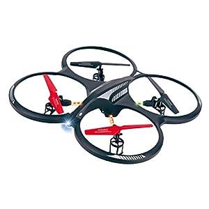 Ansmann RC X-Drone XL RtF - Drones con cámara (Negro, hacia atrás, Descendente, Adelante, Turn Left, Turn Right, Upward, Polímero de Litio, AA, USB)