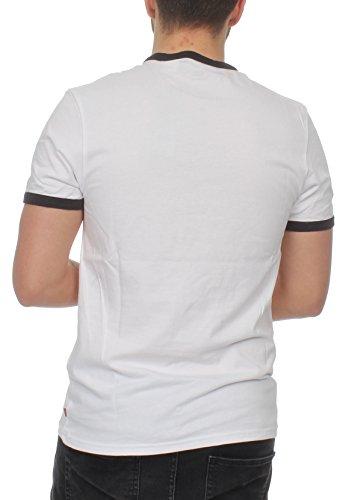 Unbekannt Levis Herren T-Shirt Ringer Tee 39980-0000 Weiß Weiß