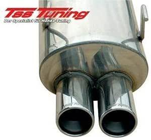 Tss Auspuff Sportauspuff F1 Kompatibel Mit Honda Jazz Gd1 5 Ge2 3 Auto