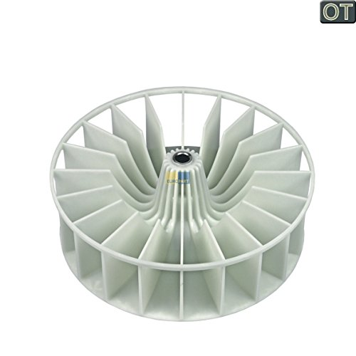 ORIGINAL Bosch Balay Constructa Siemens Neff 264487 00264487 Lüfterrad Umluft Ventilator Gebläseflügel Gebläse Ø 159mm Wäschetrockner Trockner Trocknerautomat auch Quelle (Trockner-gebläse-rad)