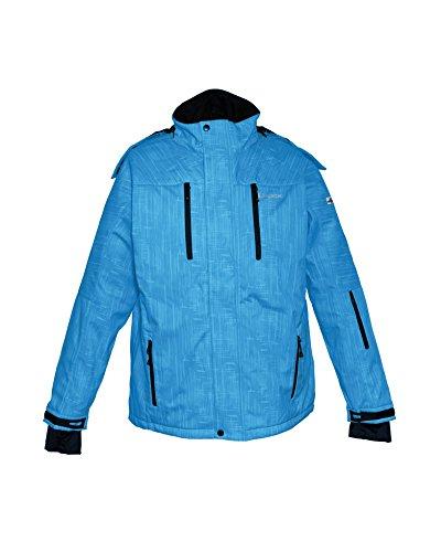 deproc Active Veste softshell Veste de ski et veste d'hiver Bleu - royal print