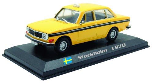 Volvo 144 - Stockholm 1970 diecast 1:43 model (Amercom TX-21)