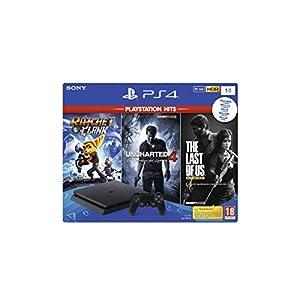 Comprar PS4 de 1TB + Ratchet & Clank + The Last of Us + Uncharted 4