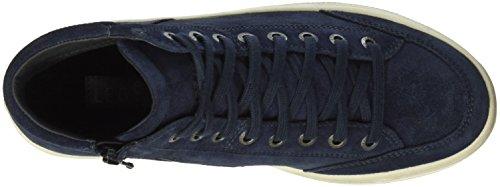Legero Damen Mira 700630 Hohe Sneakers Blau (NIAGARA 84)