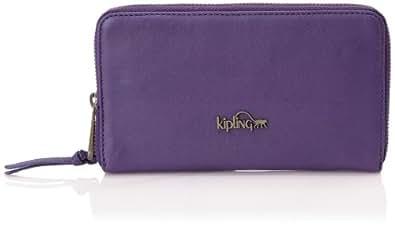 Kipling ALVIS L K1188760R, Damen Geldbörsen, Violett (Imperial Purple), 19x11x2 cm (B x H x T)