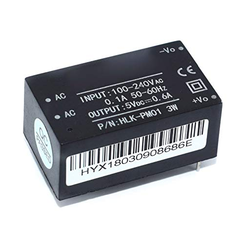 Ferrell Step Down Power Supply Module 220V to 5V HLK-PM01/03/12 Ultra Slim Microsd