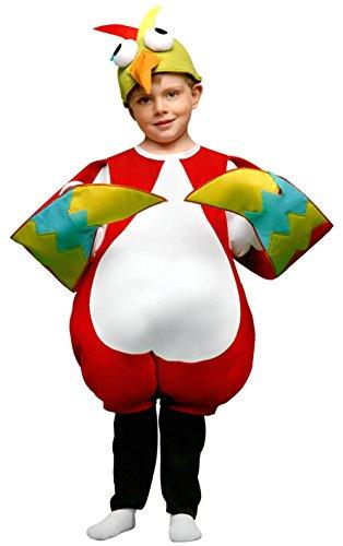 Imagen de disfraz de pájaro loco infantil  talla  1 2 años