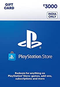 Rs.3000 Sony PlayStation Network Wallet Top-Up (Email Delivery in 1 hour- Digital Voucher Code)
