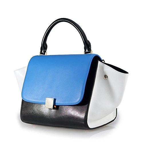 GBT Neue Handtaschen-Art- und Weisedame-Schulter-Beutel-Handtasche 2016 black blue meters