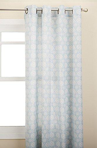Lothringen Home Fashions Tülle Fenster Vorhang Panel, Blue Mist, 137,2x 160cm - Mist-panel