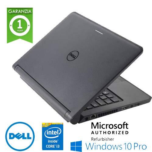Notebook Dell Latitude 3340 Core i3-4010U 4Gb Ram 500Gb 13.3 pollici Webcam Windows 10 Professional con Licenza Simpaticotech MAR Microsoft Authorized Refurbisher (Ricondizionato)