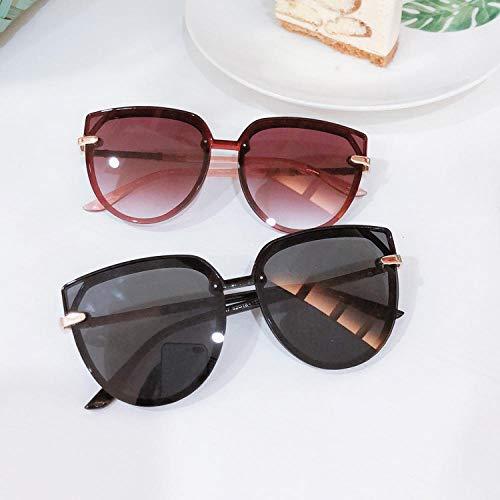 BHLTG Sonnenbrille Frauen Flut UV-Schutz rundes Gesicht schlanke Sonnenbrille Outdoor Sports Travel Sonnenschirm Brille-4