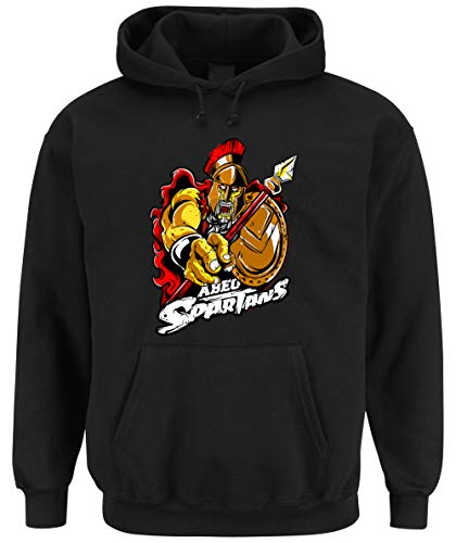 Certified Freak Spartans Hooded-Sweater Black L