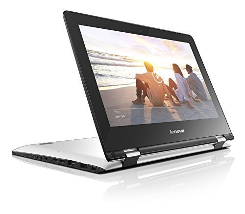 Lenovo YOGA 300 11.6-Inch HD Touchscreen Notebook (Intel Celeron N2840 2.16 / 2.58 GHz Turbo Processor , 4 GB RAM, 500GB HDD, WLAN, Bluetooth, Camera, Intel HD Graphics, Leight Weight 1.4 kg, Windows 8.1) – White image
