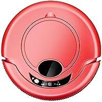 SUN HUIJIE Robot de Barrido Totalmente automático Aspirador Inteligente doméstico Máquina de Limpieza Ultrafino (Color : Red)
