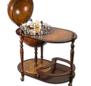xxl deluxe profi globus bar globusbar 110x81cm hausbar minibar regal modell elecsa 5300 amazon. Black Bedroom Furniture Sets. Home Design Ideas