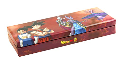 Clairefontaine 812775C Plumier Dragon Ball 21x 5,5x 8cm, Beerus marrón