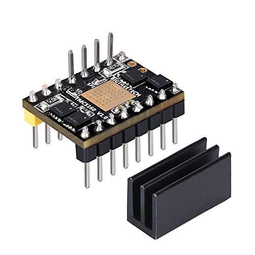 ExcLent Tmc5160 V1.0 High Power Stepper Motor Driver Module Board with Stealthchop2 / Stallguard2 for Reprap SKR V1.3 Board/Mks Gen L/Mks Gen Base 3D Printer Part Gen Logic Board