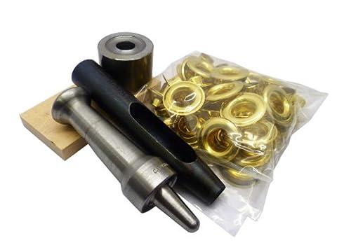 Semi Pro Set-it-Yourself Brass Eyelet Kit Size 4 (12.5mm)