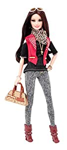 Barbie Style Raquelle Leather (Red)