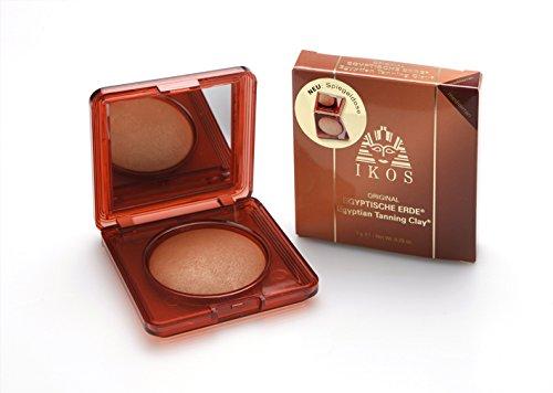 IKOS Egyptische Erde, naturelle, 1er Pack (1 x 7 g) - Mineral Bronzing Powder