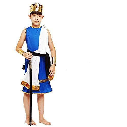 thematys König Prinz Kostüm-Set für Kinder - perfekt für Fasching, Karneval & Cosplay - Verschiedene Größen (XL)