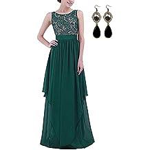 new styles c930c 7600f abito elegante - Verde - Amazon.it