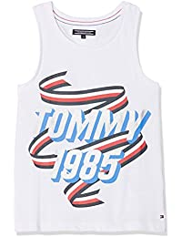 Tommy Hilfiger Mädchen Top Peppy Knit Tanktop
