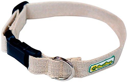BallBoy Hundehalsband, Hanf, 2,5 x 41-66 cm, Größe L -