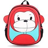 Mochilas de los Niños Agua Densidad Basil para niños y bebés I de bebé 3d cartoons Zoo kleinkind Edad 2345678años Mono
