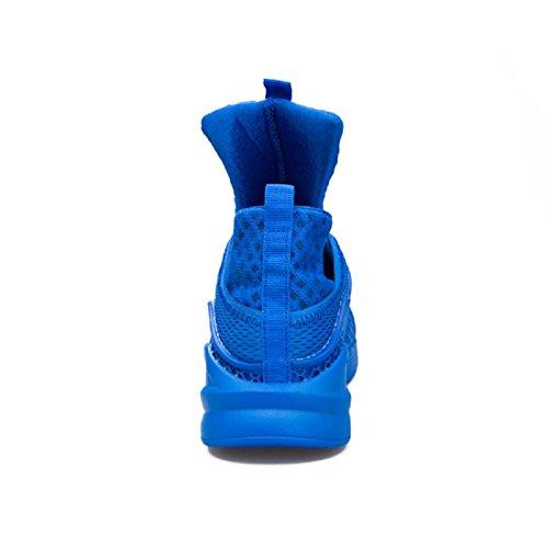 Herren Lässige Schuhe Persönlichkeit Atmungsaktiv Mode Freizeit Lazy Schuhe Blue
