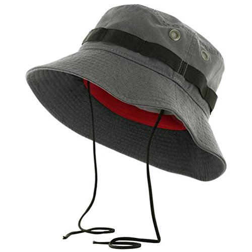 MASTERDIS C3 SAFARI BUCKET HAT UNI HUT OLDSCHOOL Darkgrey