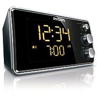 Philips Aj3551/12, Alarm Saat, Büyük Ekranlı, Siyah