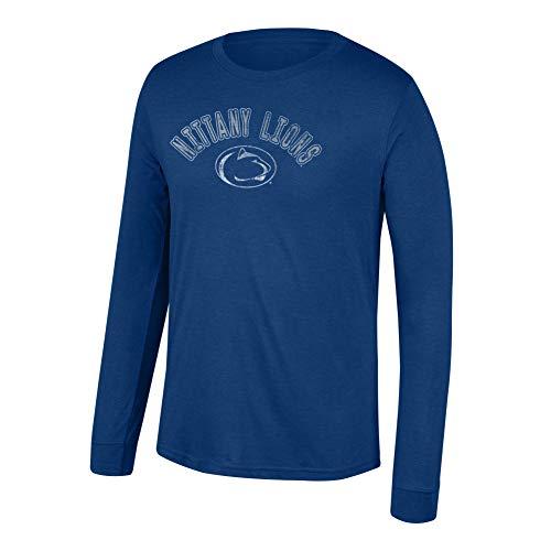 eLITe Top of The World NCAA Herren T-Shirt langärmlig Tri-Blend Team Color Heritage, Herren, Men's Team Color Heritage Tri-Blend Long Sleeve Tee, Penn State Nittany Lions Navy, X-Large - Longsleeve Penn
