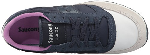 Saucony Damen Jazz Original Sneakers Blau (crema / Navy)