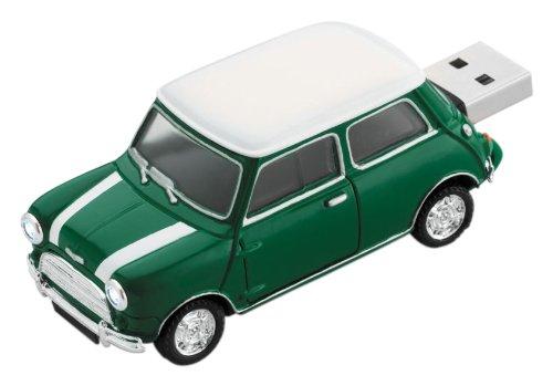Platinum Mini Cooper 177538 Clé USB 4 Go Vert