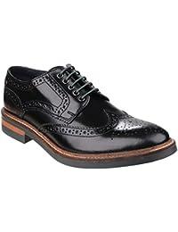 Base London Garland Hombre Zapatos Negro bjX58m