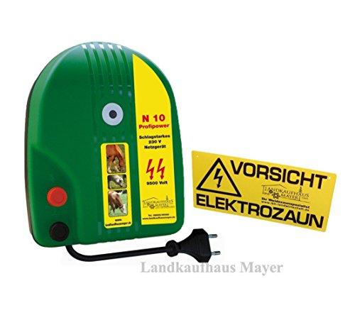 Weidezaungerät 230V N10 Weidezaun Netzgerät Elektrozaungerät - Weidezaun Netzgerät