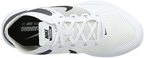 Nike Herren Free Train Instinct Hallenschuhe Mehrfarbig (White/Black)