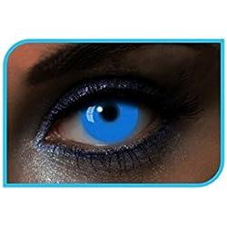 Aec le40001blandas color Glow UV duración 1an, azul