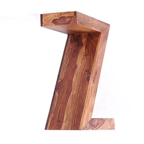 DESIGN SIDE TABLE AUTHENTICO Z retro lounge rack wooden stand from XTRADEFACTORY