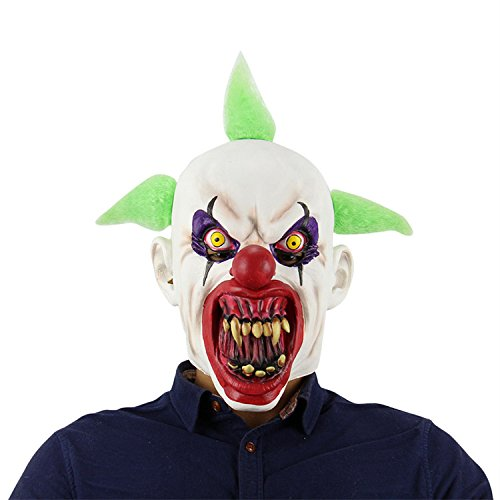schreckliche halloween Maske Latex Kopf Maske scary Kunststoff Kostüm Maske blutigen cosplay volle Gesichtsmaske für Karneval Festival Party für Ghost Party von (Gruppe Halloween Kostüme Teenager)