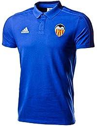 adidas Polo Valencia CF 2018-2019 Bold Blue-Dark Blue-White Talla M