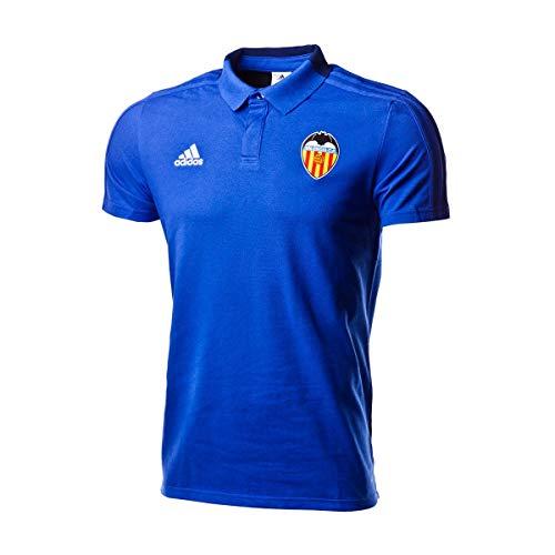 adidas Polo Valencia CF 2018-2019 Bold Blue-Dark Blue-White