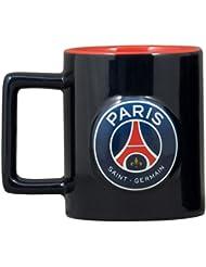 PSG Mug Logo 3D en Boîte Individuelle Céramique Multicolore 14,5 x 11,5 x 9 cm
