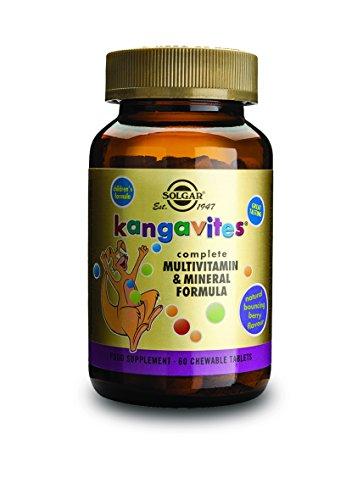 Solgar Kangavites Multi Frutas Bosque - 60 Tabletas