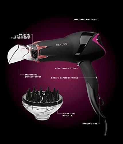 REVLON Pro RVDR5105 Collection Salon Infrared Hair Dryer